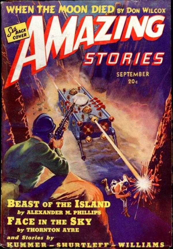 AMAZING STORIES. September, 1939
