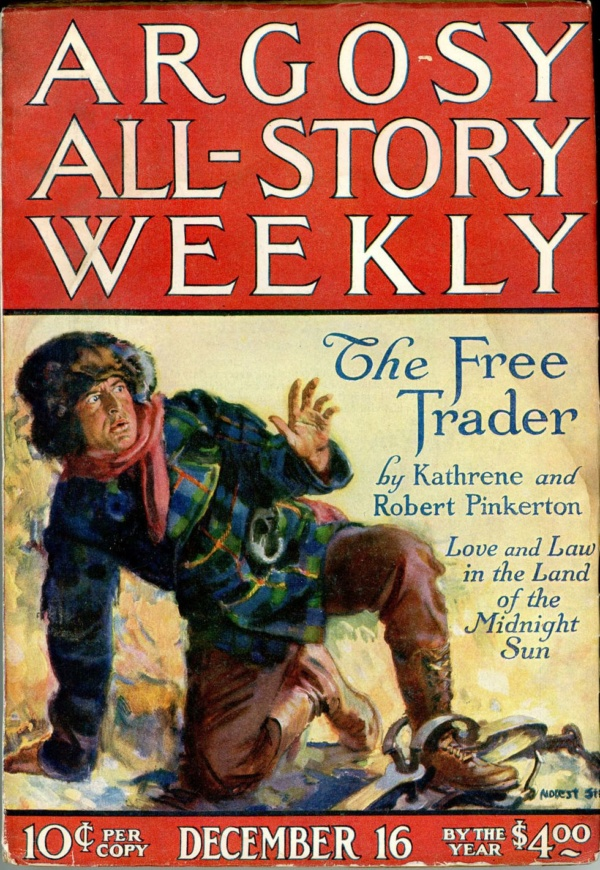 ARGOSY ALL-STORY WEEKLY. December 16, 1922