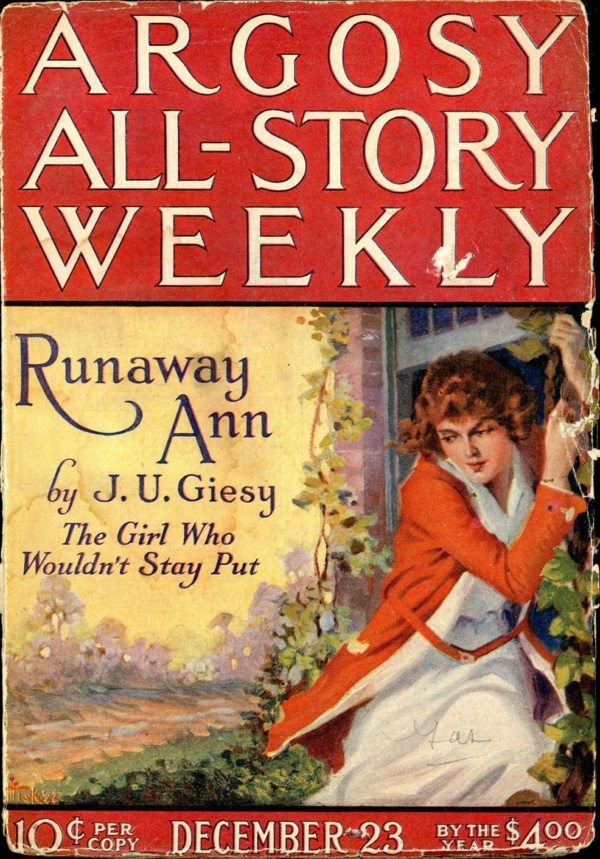 ARGOSY ALL-STORY WEEKLY. December 23, 1922