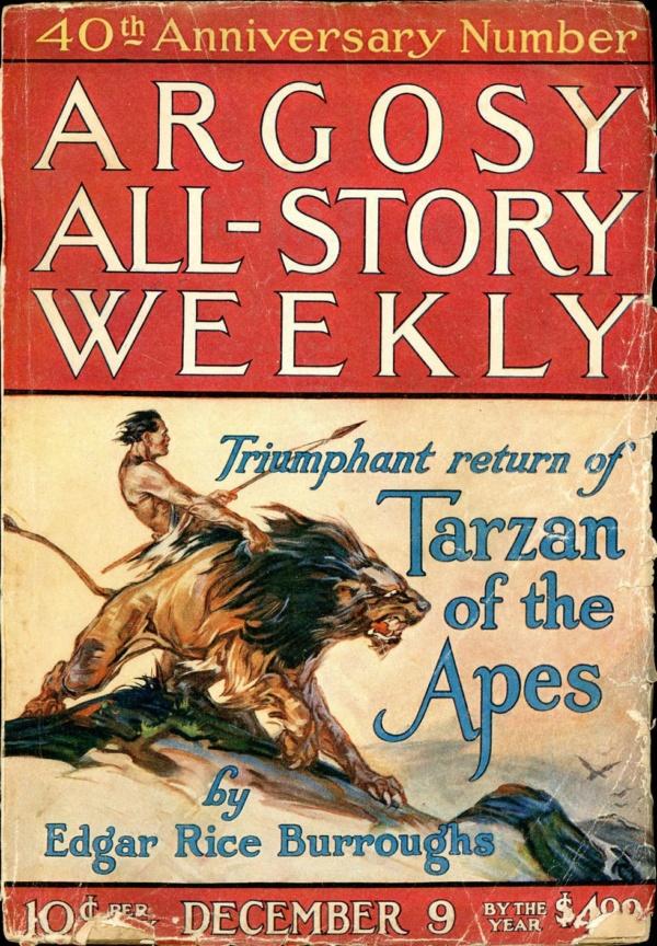 ARGOSY ALL-STORY WEEKLY. December 9, 1922