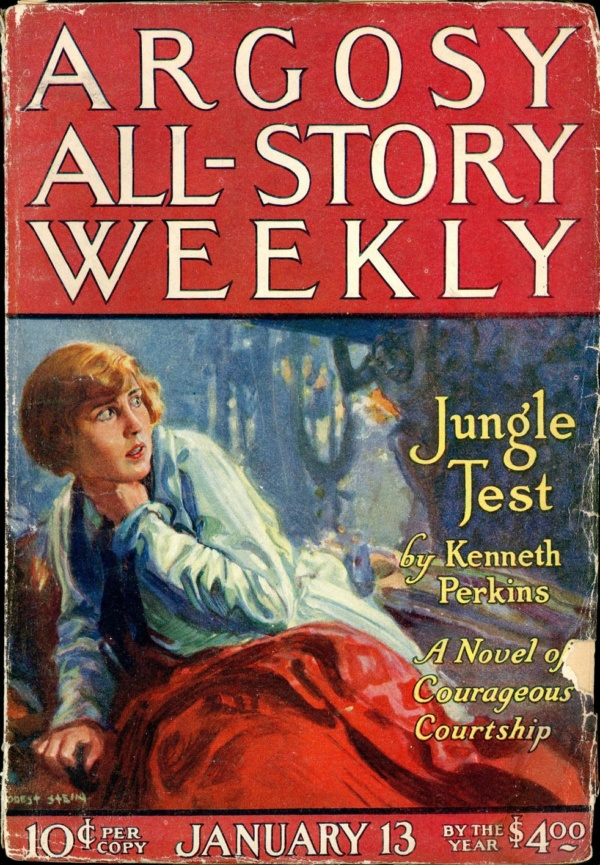 ARGOSY ALL-STORY WEEKLY. January 13, 1923