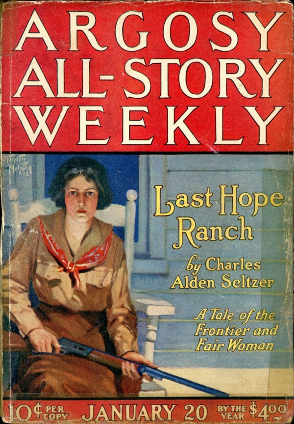 ARGOSY ALL-STORY WEEKLY. January 20, 1923