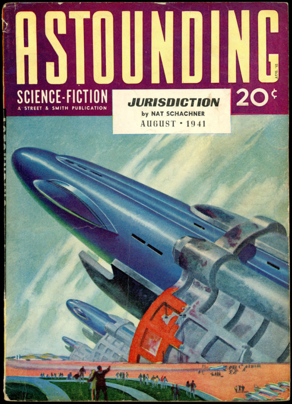ASTOUNDING SCIENCE FICTION. August 1941
