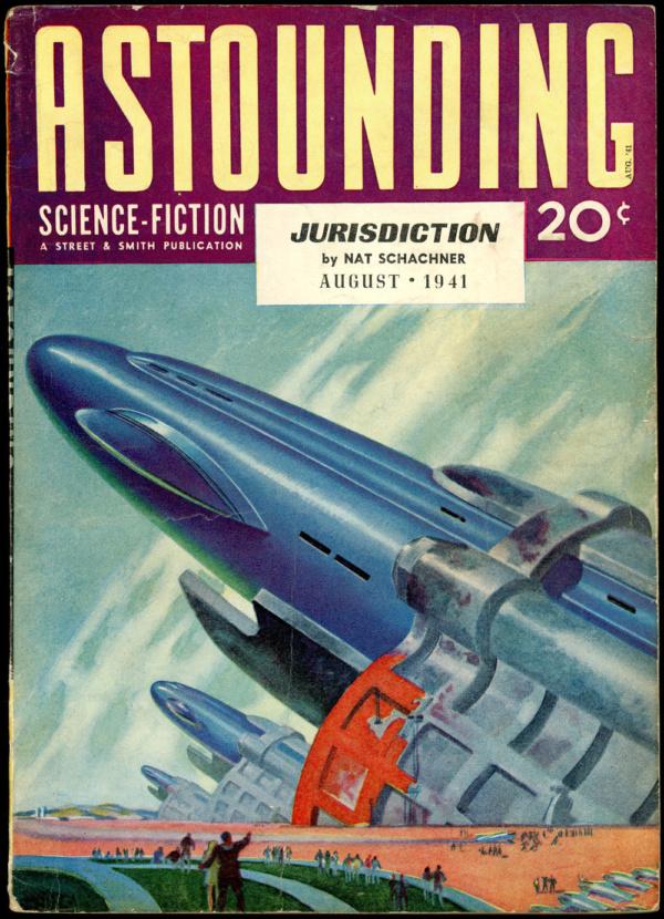 ASTOUNDING SCIENCE FICTION. August 1941