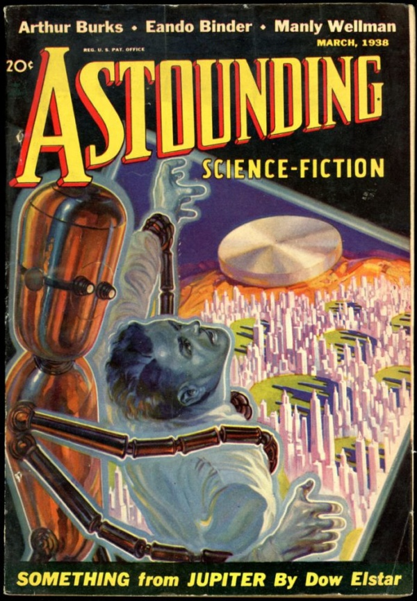 ASTOUNDING SCIENCE FICTION. March 1938