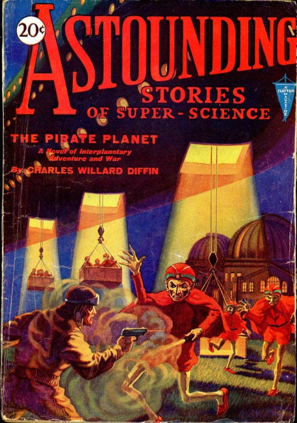 ASTOUNDING STORIES OF SUPER SCIENCE. November, 1930