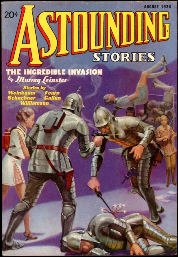 ASTOUNDING STORIES. August 1936