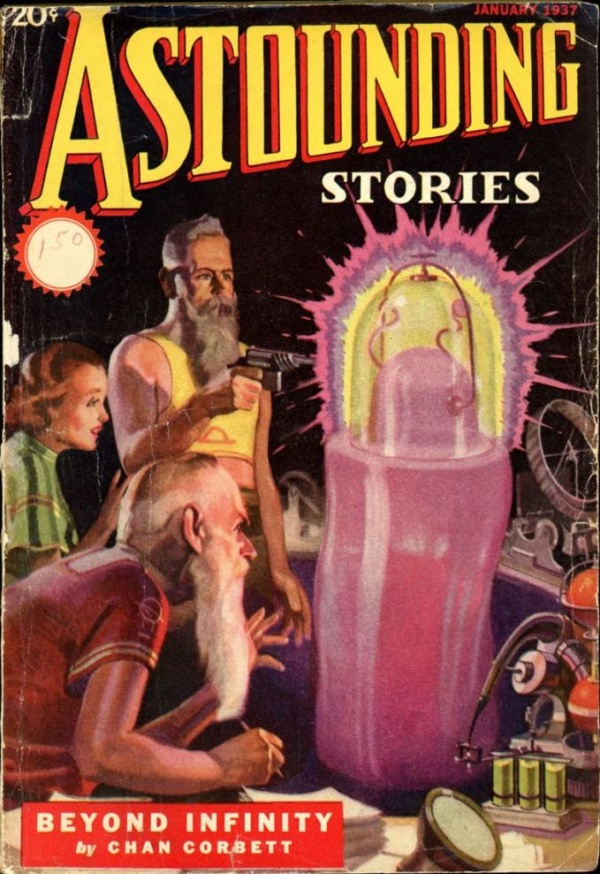 ASTOUNDING STORIES. January 1937