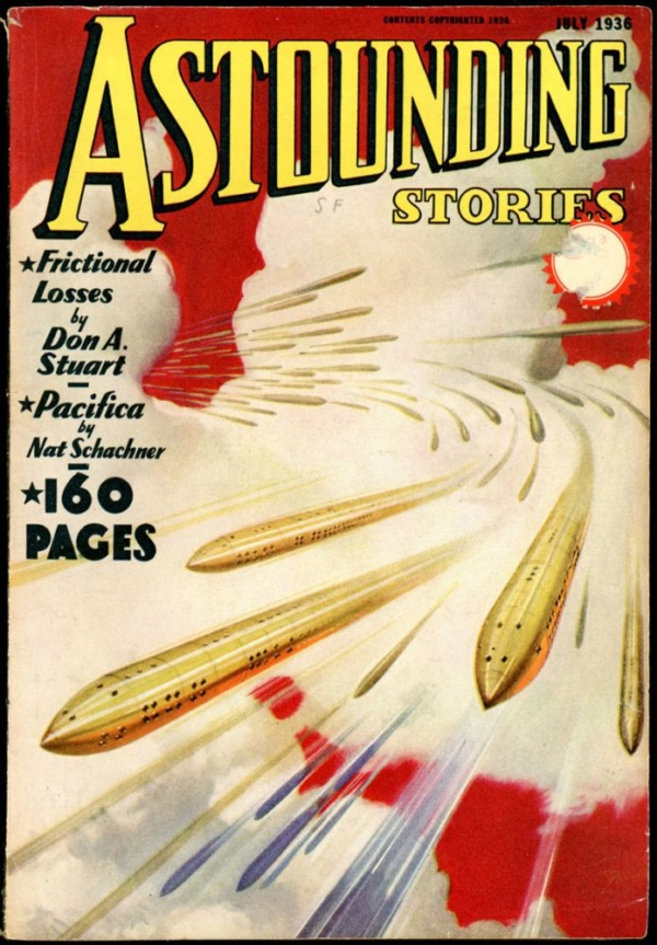ASTOUNDING STORIES. July 1936