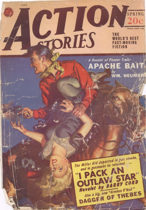 Action Stories Spring 1949
