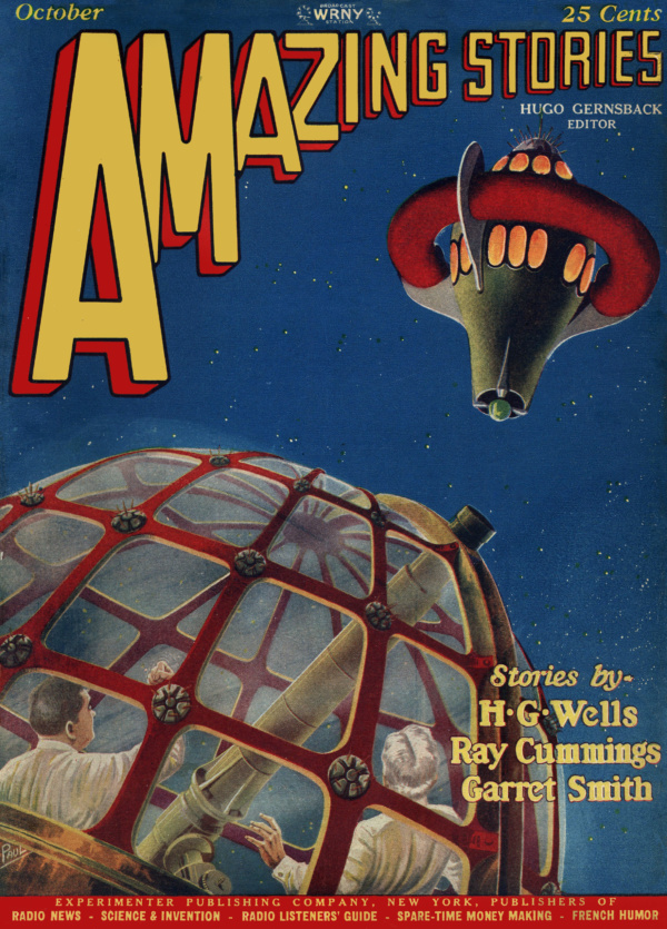Amazing Stories October 1927
