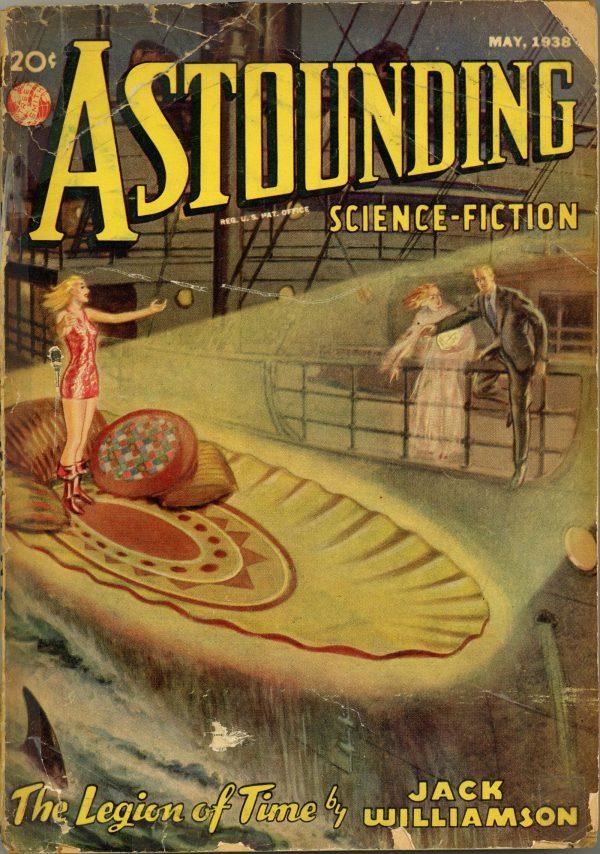 Astounding Science Fiction Magazine May 1938