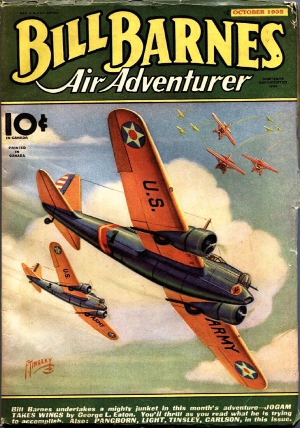 Bill Barnes Air Adventurer October 1935