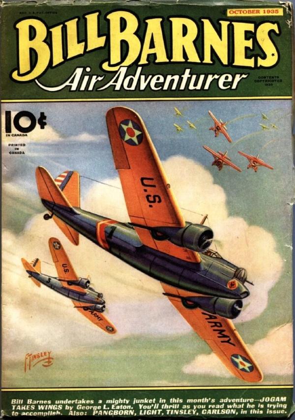 Bill Barnes Air Adventurer October 1935