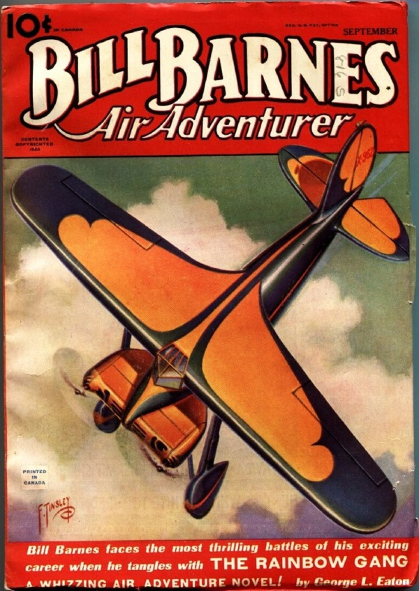 Bill Barnes Air Adventurer September 1935
