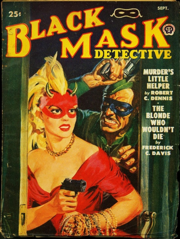 Black Mask September 1950