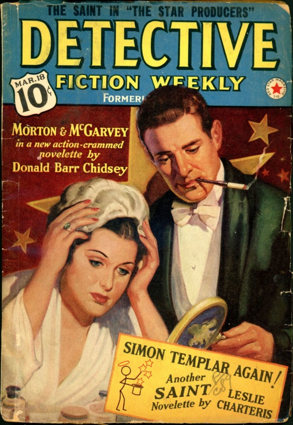 DETECTIVE FICTION WEEKLY. March 18, 1939