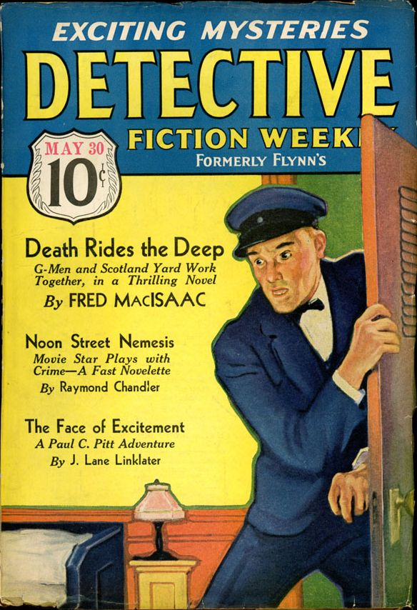DETECTIVE FICTION WEEKLY. May 30, 1936