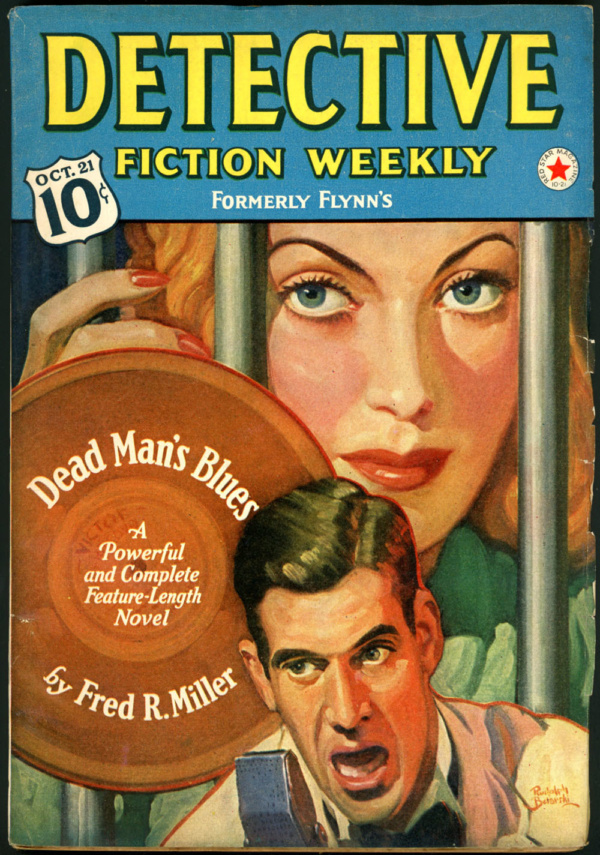DETECTIVE FICTION WEEKLY. October 21, 1939