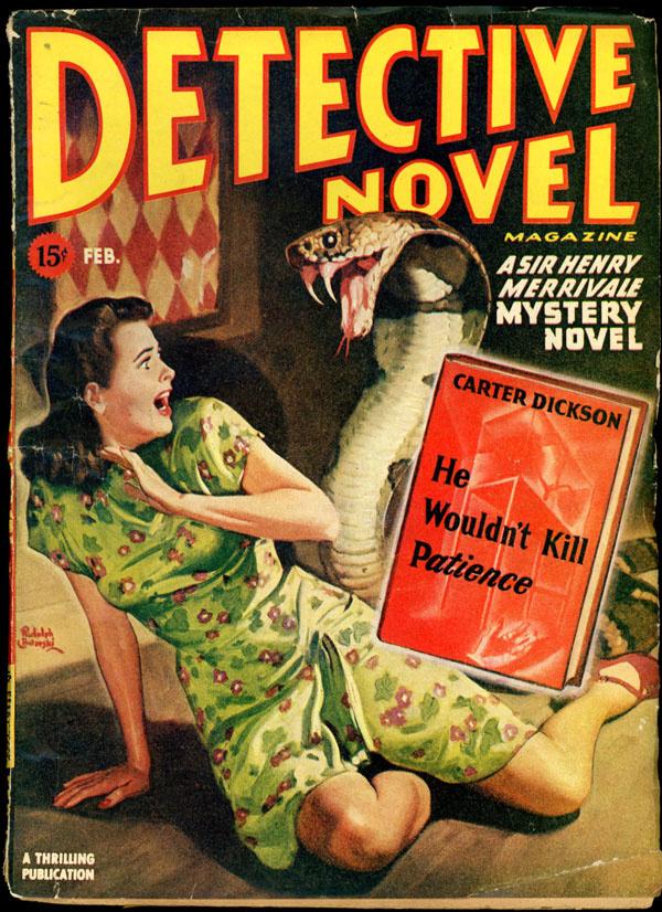 DETECTIVE NOVEL MAGAZINE. February, 1946