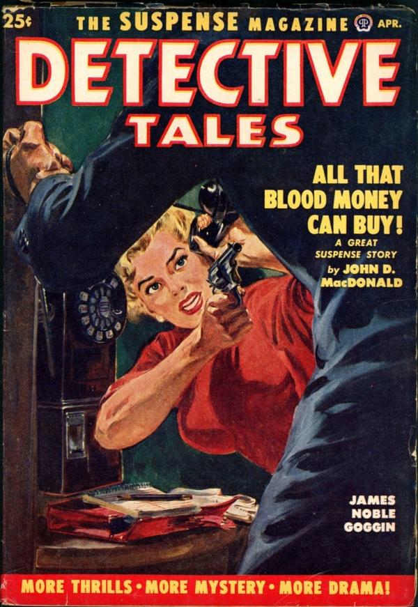 DETECTIVE TALES. April 1952