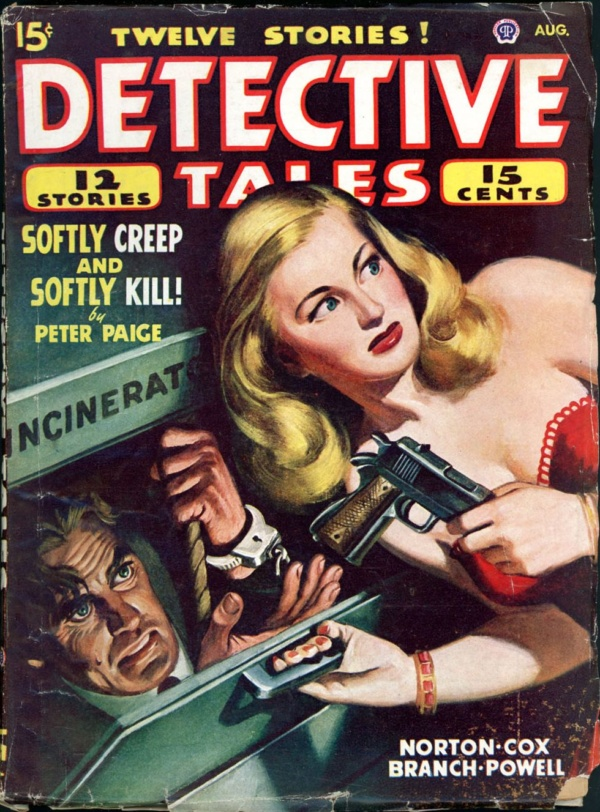 DETECTIVE TALES. August 1947