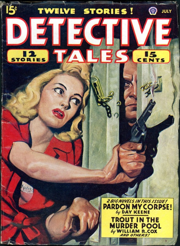 DETECTIVE TALES. July 1946