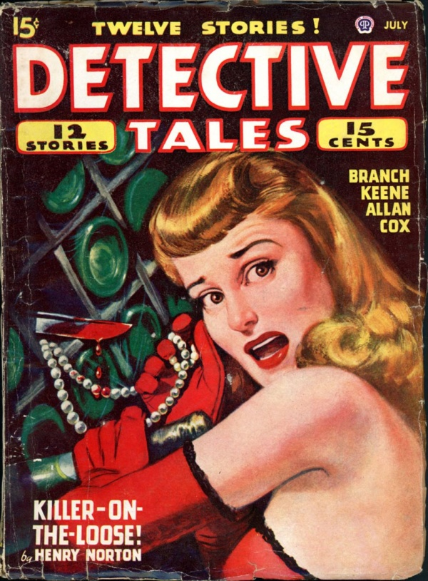 DETECTIVE TALES. July 1947