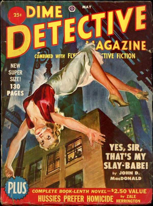 DIME DETECTIVE. May 1950