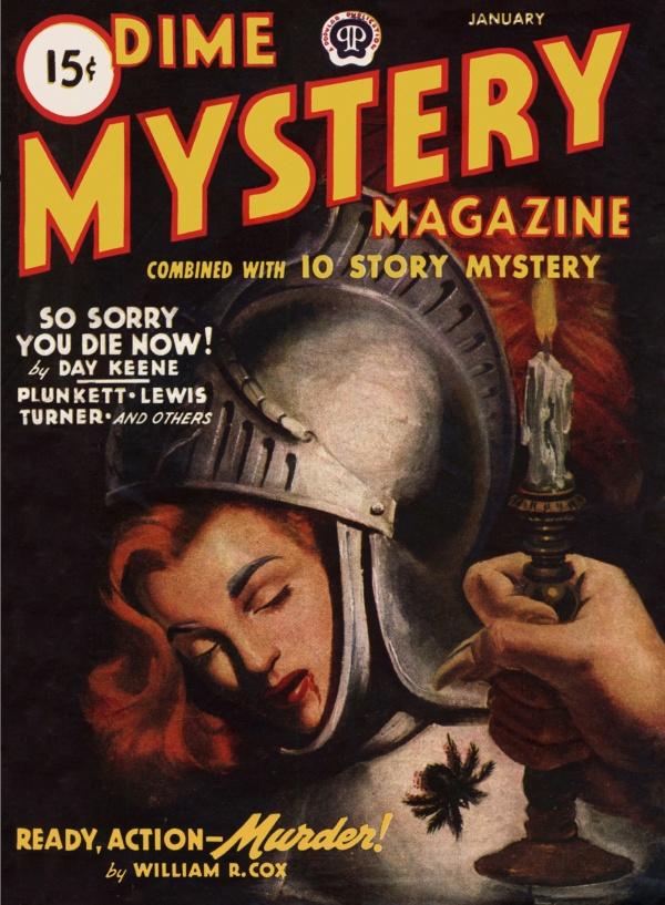 DIME MYSTERY Jan 1945