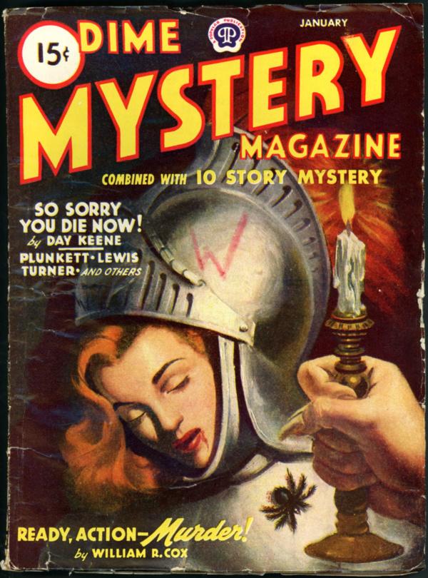 DIME MYSTERY. January 1945