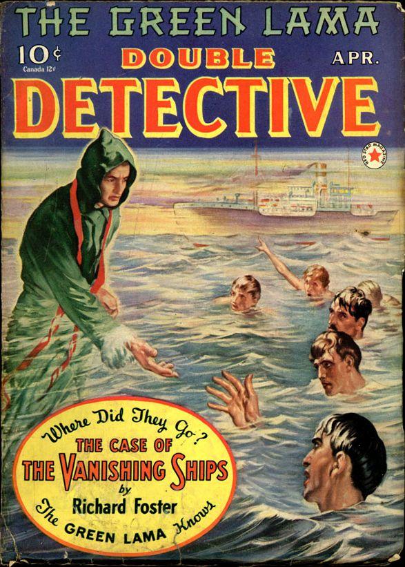 DOUBLE DETECTIVE. April, 1941
