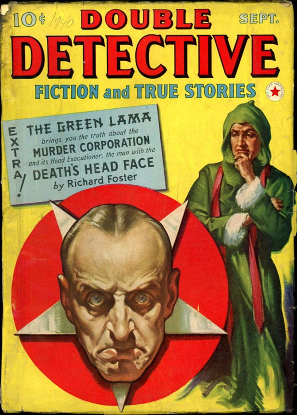 DOUBLE DETECTIVE. September, 1940