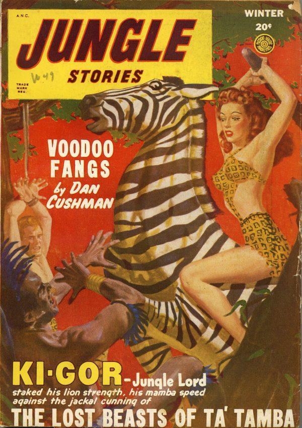 December 1948 Jungle Storeis Magazine