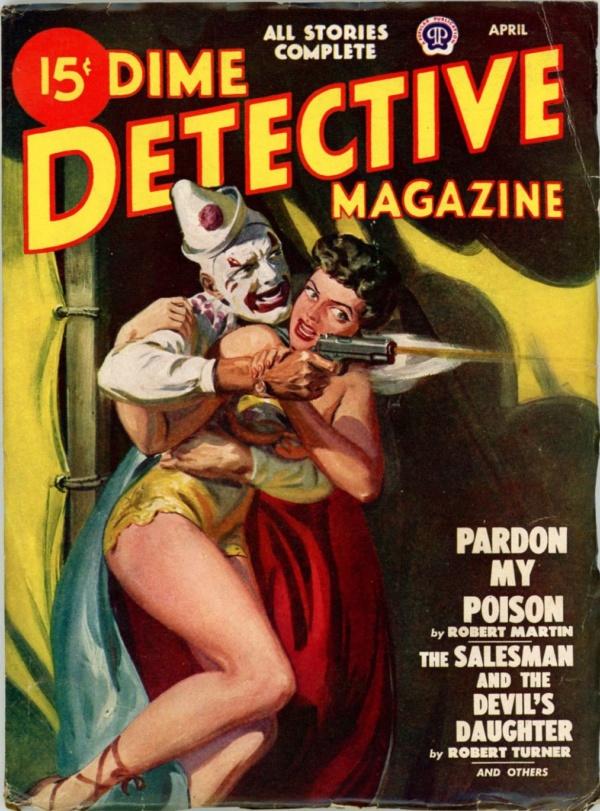 Dime Detective, April 1948