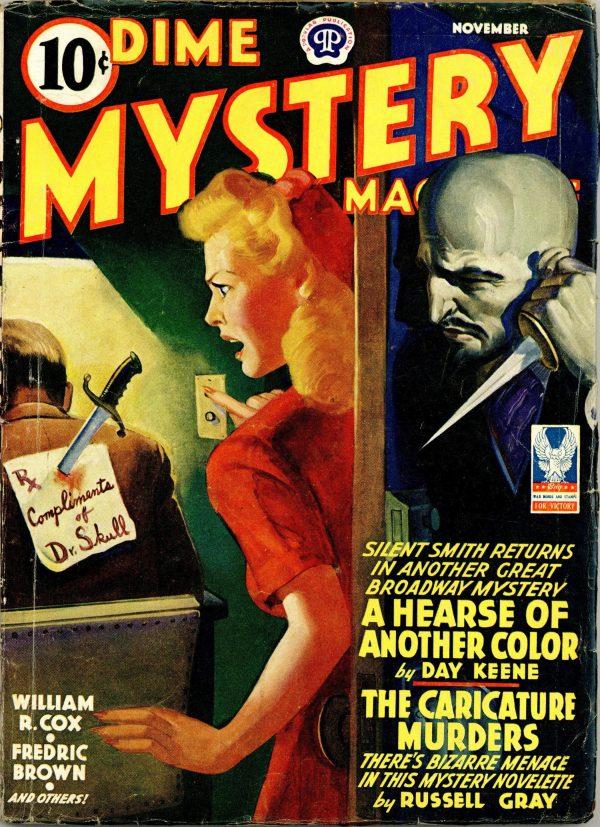 Dime Mystery Magazine November 1942