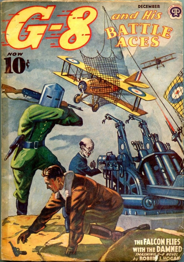 G-8 And His Battle Aces December 1939