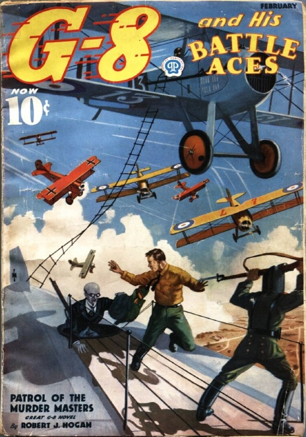 G-8 And His Battle Aces February 1937