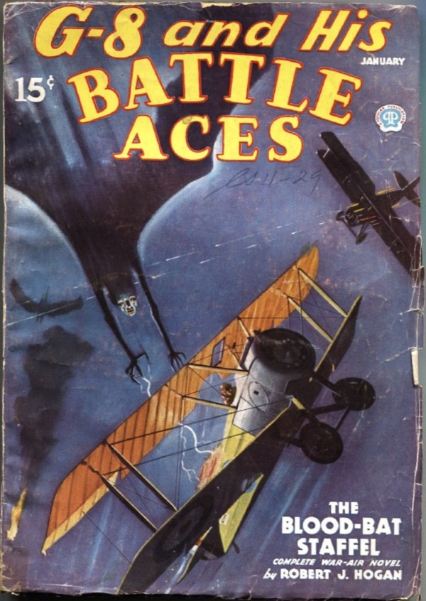 G-8 And His Battle Aces January 1936