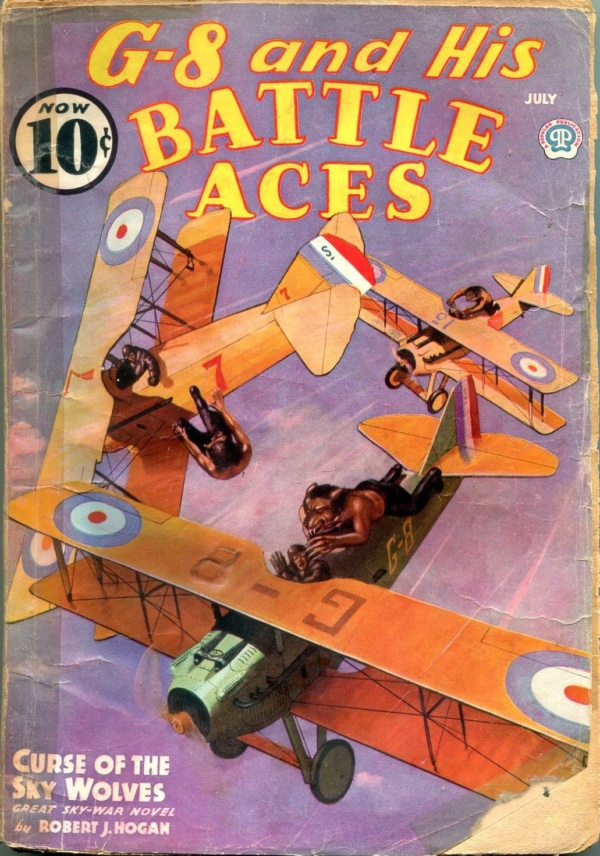G-8 And His Battle Aces July 1939
