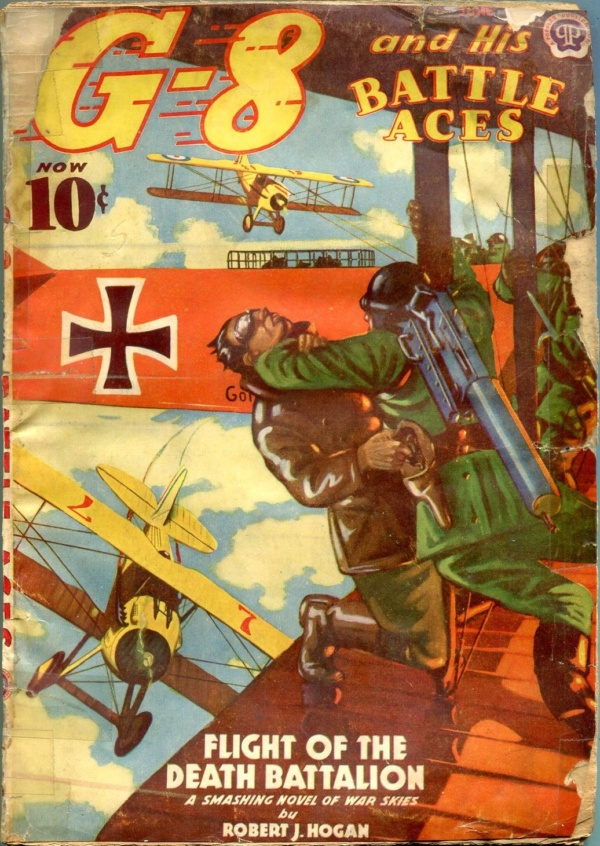 G-8 And His Battle Aces June 1939