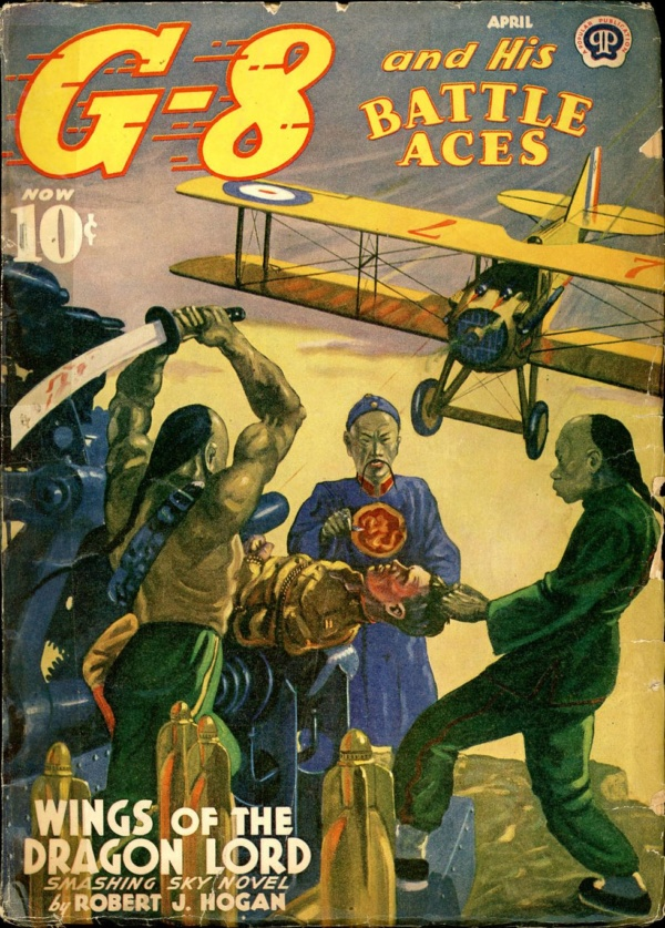 G-8 and HIS BATTLE ACES. April 1940