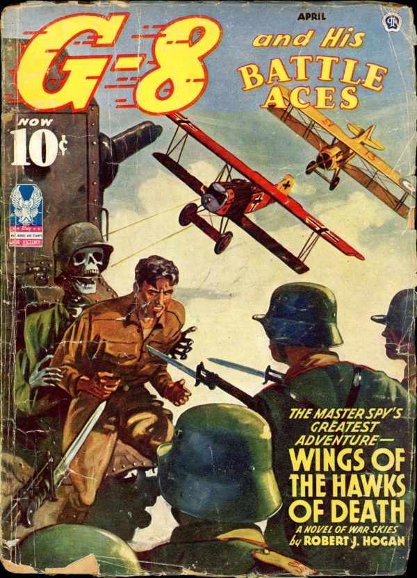 G-8 and HIS BATTLE ACES. April 1943