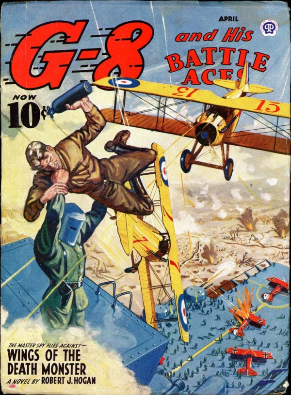 G-8 and HIS BATTLE ACES. April 1944