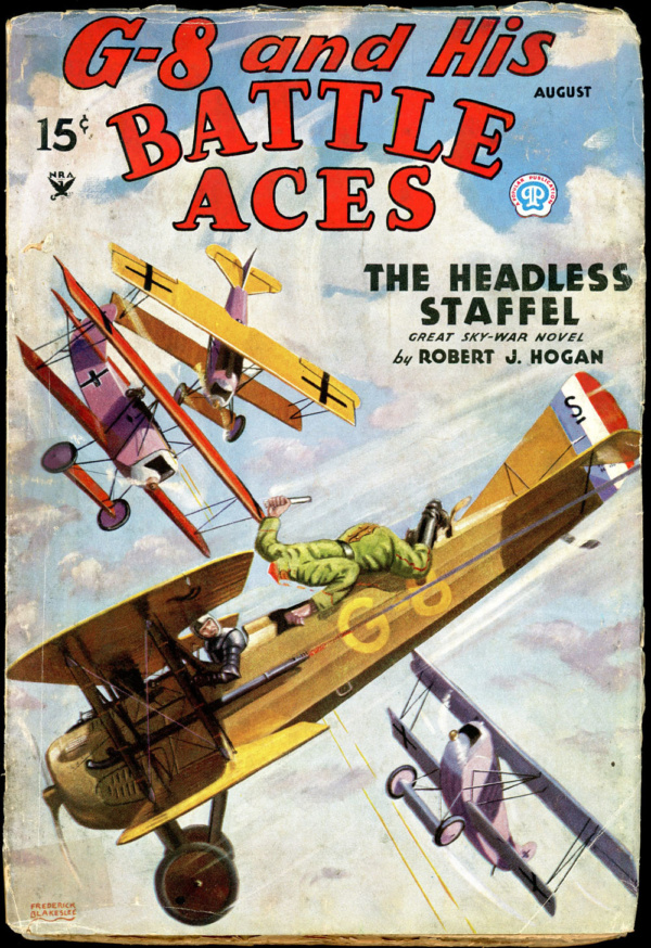 G-8 and HIS BATTLE ACES. August 1935