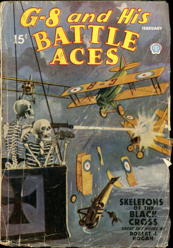 G-8 and HIS BATTLE ACES. February 1936