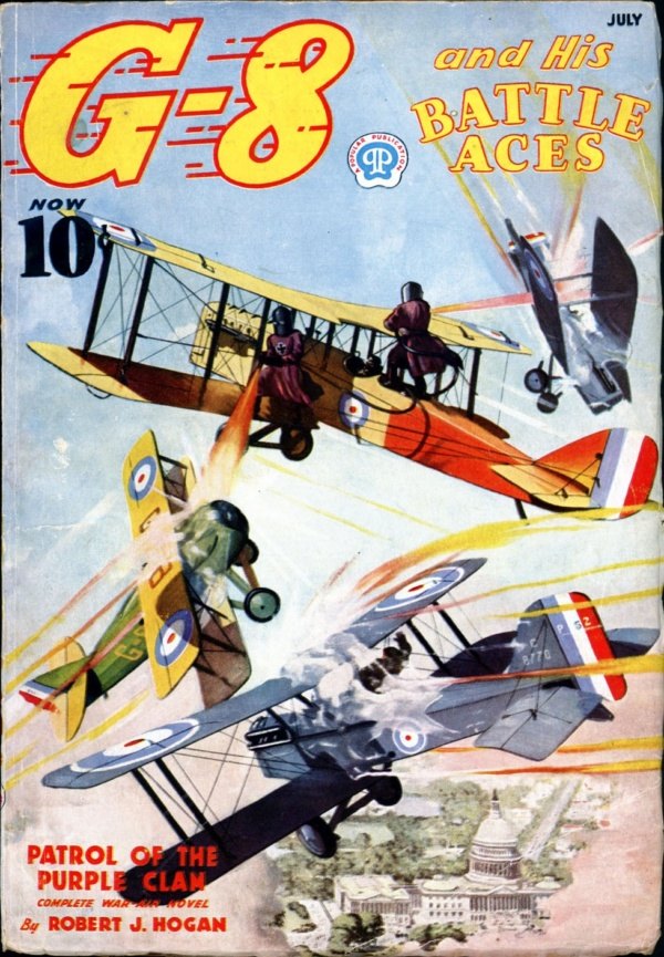 G-8 and HIS BATTLE ACES. July 1937