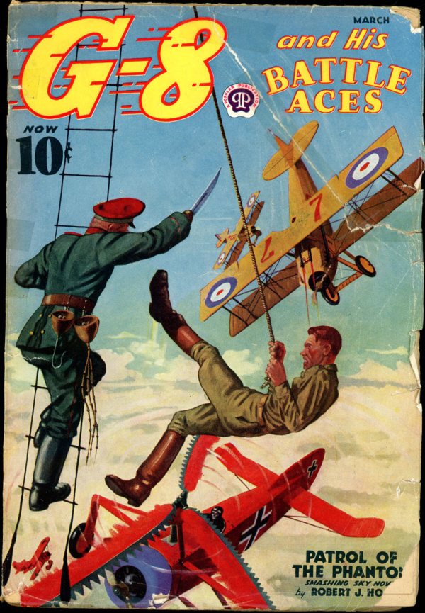 G-8 and HIS BATTLE ACES. March 1938