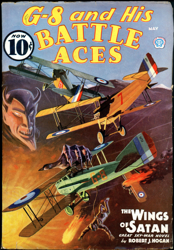 G-8 and HIS BATTLE ACES. May 1936