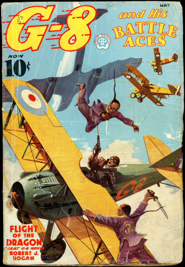 G-8 and HIS BATTLE ACES. May 1937